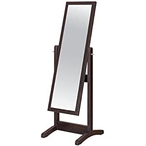 St Jewel Classic Adjustable Dress Mirror Wall Mounted Mirrors