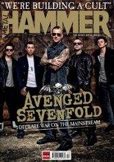 METAL HAMMER MAGAZINE DECEMBER 2013 AVENGED SEVENFOLD WATAIN BLACK VEIL SOCIETY OPETH AFI