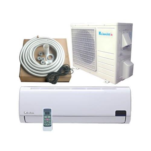 9000 BTU KLIMAIRE Inverter Ductless Mini Split Heat Pump Air Conditioner 16 SEER