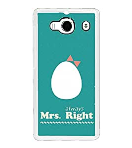 ifasho Always right quote Back Case Cover for Redmi 2S