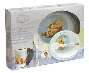 Spel 004626 - Vajilla infantil (5 piezas), diseño Winnie the Pooh, color azul