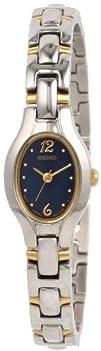 Seiko Womens SXGJ73 Dress Two-Tone Watch