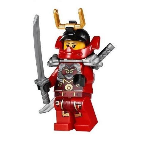 LEGO® Ninjago Minifigure Nya Samurai X Female Red Ninja (70728) - 1