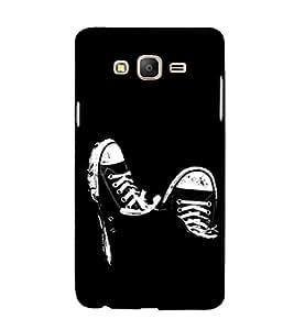 EPICCASE Sneakers Mobile Back Case Cover For Samsung Galaxy E7 (Designer Case)