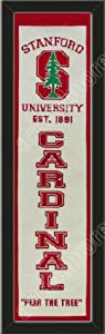 Heritage Banner Of Stanford Cardinal-Framed Awesome & Beautiful-Must For A... by Art and More, Davenport, IA