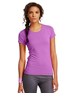 Under Armour Women's HeatGear Sonic Short Sleeve