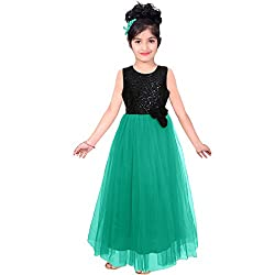 Cartyshop Party wear Baby Girls Frock Dress