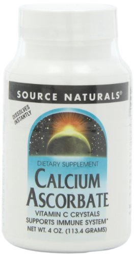 Source Naturals Calcium Ascorbate Crystals, 4 Ounce