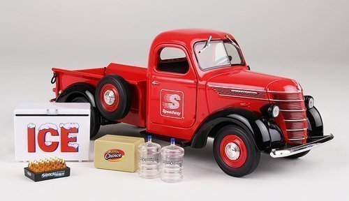 Limited 1st Edition Collector Toy Truck 2015 Speedway 1938 International D2 Pickup 1/25 Scale (International Toy Trucks compare prices)