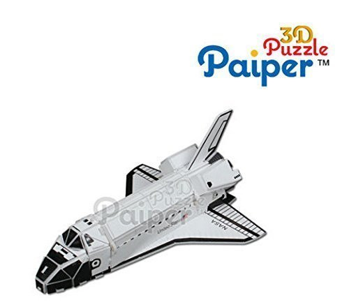 3d puzzle educational toy paper aircraft model