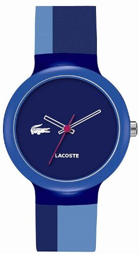 Lacoste GOA Navy Dial Blue and Navy Silicone Unisex Watch 2020042