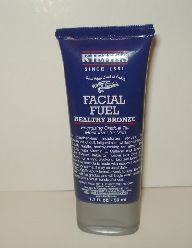 Kiehl's Facial Fuel Healthy Bronze Energizing Gradual Tan Moisturizer for Men