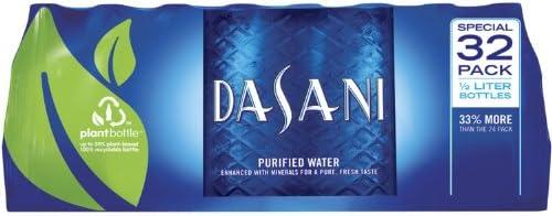 Dasani Bottled Water - 169 oz PET Bottles - 32 pk