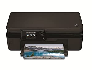 HP Photosmart 5520 e-All-in-One Tintenstrahl Multifunktionsdrucker (A4, Drucker, Scanner, Kopierer, Wlan, USB, 4800x1200)