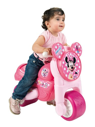 Minnie Mouse Foot-to-Floor Toddler Motorbike