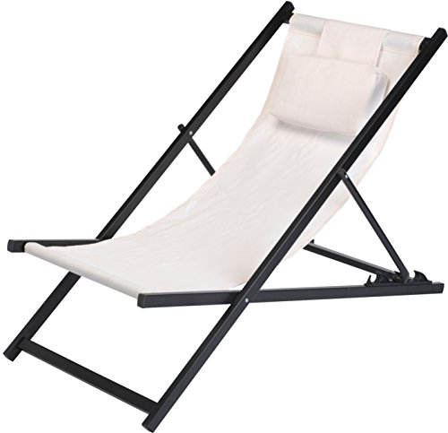 Metall-Liegestuhl-mit-Kopfkissen-wei-stabile-Strandliege-3-fach-hhenverstellbar