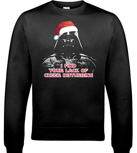 xmas-darth-vader-i-find-your-lack-of-cheer-disturbing-mens-funny-sweatshirt-black-large