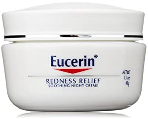 Eucerin Redness Relief Soothing Night Crème, 1.7 oz.
