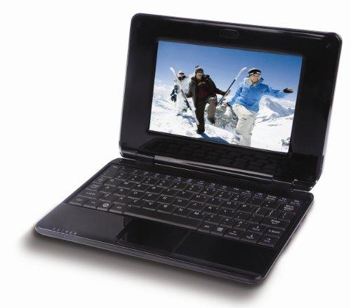 Coby NBPC 724 Netbook da 17,8 cm (7 pollici), Imapx 210, 256MB RAM, Android, colore: Nero