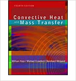 convective heat and mass transfer kays 4th edition pdf