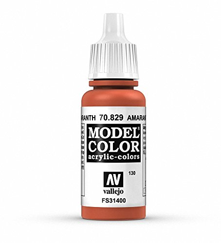 Vallejo Amaranth Red Paint, 17ml