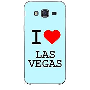Skin4gadgets I love Vegas Colour - Light Blue Phone Skin for SAMSUNG GALAXY J1