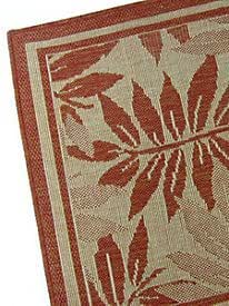 Amazon Palm Leaf Indoor Outdoor Rug