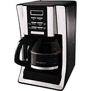 2X Mr. Coffee BVMC-SJX33GT 12-Cup Programmable Coffeemaker, Chrome