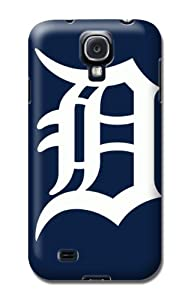 MLB Detroit Tigers Team Logo Case Cover for Samsung Galaxy S4 Hard Case