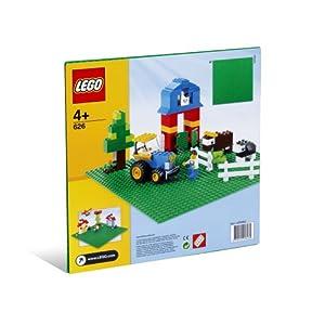 """(历史最低)LEGO Green Building Plate (10"""" x 10"""")乐高多普乐建筑板$3.74"""
