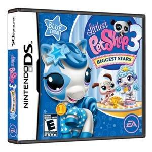 NEW LPS 3: Biggest Stars-Blue DS (Videogame Software)