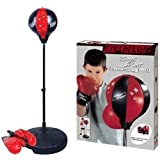 Punch Bag Speed Ball Boxing Sport Set Mitts Gloves Kids Boys Childrens Toy