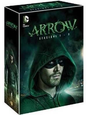 Arrow - Stagioni 1,2,3 - Cofanetto (15 DVD) - Edizione Italiana