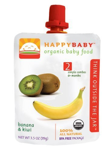 Happy Baby Organic Baby Food Banana And Kiwi