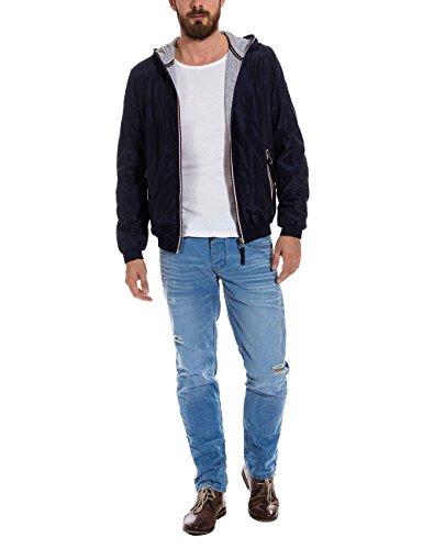 Timezone Herren Jacke Jacket, Gr. Large, Blau (uniform blue 3534)