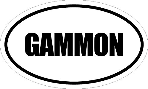 6-printed-euro-style-oval-gammon-decal-sticker-decor-impact-font-style