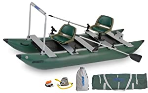 Sea Eagle 12-Foot 4-Inch FoldCat Inflatable Boat with Pro-Angler Package