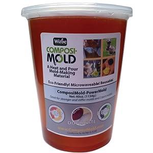 ComposiMold PM40 PowerMold Firm Reusable Molding Material, 40-Ounce