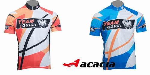 Orange/blue Cycling Team Bike Bicycle Cycling Wear Mountain Short Shirt Jersey+bib Shorts Suit Sets
