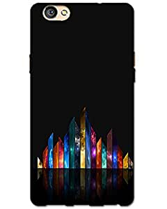 MobileGabbar Oppo F1s Back Cover Printed Designer Hard Case