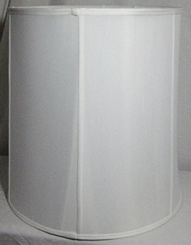 14 Inch T X 16 Inch B X 17 Inch H White Drum Shade back-181588