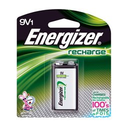 Energizer 9V Rechargeable Battery - NH22NBP