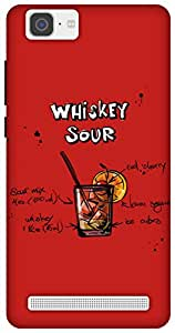 The Racoon Lean Cherry Whiskey Sour hard plastic printed back case / cover for Vivo X5 Max