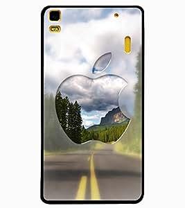 ColourCraft Creative Fruit Image Design Back Case Cover for LENOVO A7000 PLUS