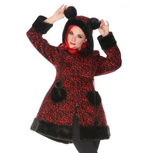 Jawbreaker -  Cappotto  - Donna red-black 12
