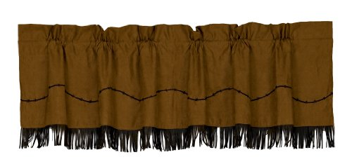 HiEnd Accents Fringed Barbwire Valance