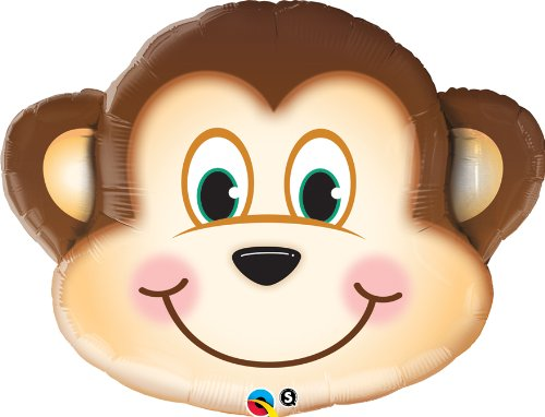 PIONEER BALLOON COMPANY 16097 Mischievous Monkey Shop Balloon Pack, 30""