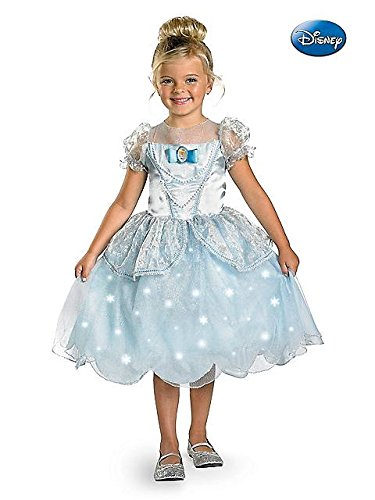 Light Up Deluxe Cinderella Costume - Child Size 3T-4T front-668074