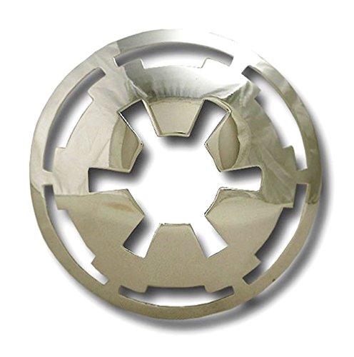 Star Wars Imperial Logo Belt Buckle (CHROME SILVER)