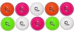 SUNNY KSI CRICKET PVC WIND BALL (SET OF 10 PCS) MULTICOLOUR